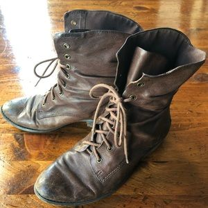 Vintage Guess Fedra Ankle Boot Brown Size 8